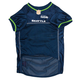 Seattle Seahawks Green Trim Dog Jersey XSmall