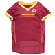 Washington Redskins Yellow Trim Dog Jersey XSmall