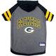 Green Bay Packers Hoodie Dog Tee Shirt Large