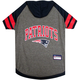 New England Patriots Hoodie Dog Tee Shirt Large