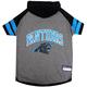 Carolina Panthers Hoodie Dog Tee Shirt XSmall