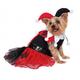 Harley Quinn Tutu Pet Costume Large