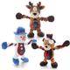 Charming Pet Christmas Pulleez Dog Toy Bear
