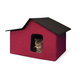 Creative Solutions Red Outdoor Multi-Kitty Home