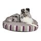 Quiet Time Empress Mattress Plum Round Dog Bed