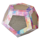 Pet Life Octagon Collapsible Puzzle Cat Scratcher