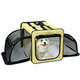 Pet Life Capacious Expand Wire Dog Crate XS Pink
