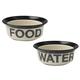 Petrageous Pooch Basics Pet Bowl 4 cups Water