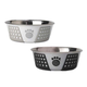Petrageous Fiji Pet Bowl 3.75c Gray/Black