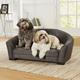 Enchanted Home Pet Artemis Grey Sofa Dog Bed