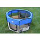 Armarkat Blue and Beige Portable Pet Playpen