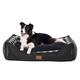 Pendleton Kuddlers Charcoal Ombre Dog Bed XLarge