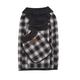 Pendleton Charcoal Ombre Dog Coat XSmall