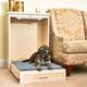 New Age Pet ecoFLEX Antique White Murphy Dog Bed