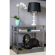 New Age Pet ecoFLEX Grey Dog Bed/Nightstand