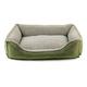 Faux Suede/Berber Olive Comfy Cup Dog Bed XLarge