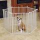 Carlson Pet Convertible Yard and Pet Gate