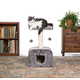 Kitty Power Paws Hideaway Cat Furniture Tiger