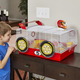 Critterville Race Car Hamster Home
