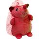 Multipet Hedgehog Plush Dog Toy Red