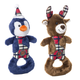 Charming Pet Christmas Polar Pal Dog Toy Penguin