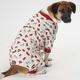 Petrageous Firetruck Dog Pajamas Small
