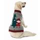 Petrageous Claus Santa Gnome Dog Sweater Xlarge