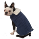 Petrageous Carles Cable Dog Sweater Small Red