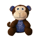 KONG Patches Cordz Monkey Dog Toy Small