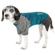 Pet Life Active Hybreed Dog Tee XSmall Teal/Grey