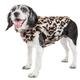 Pet Life Luxe LabPard Mink Fur Dog Coat XSmall