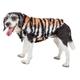Pet Life Tigerbone Mink Fur Dog Coat XSmall