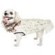 Pet Life Luxe Gilded Rawffled Fur Dog Coat XSmall