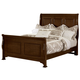 All-American New Orleans Full Sleigh Bed in French Cherry