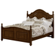 All-American New Orleans Full Poster Bed in French Cherry