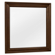 All-American New Orleans Youth Landscape Mirror in French Cherry