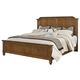All-American Nordic Kingdom King Mansion Bed in Antique Cherry