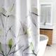 Rideau de douche en tissu « Lillies »