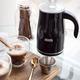 Mousseur à lait électrique Caffitaly «Latte+» - noir