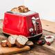 Grille-pain « Icona » 2 tranches rouge par Delonghi