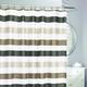 Rideau de douche en tissu « Cabana »