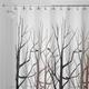 Rideau de douche en tissu « Forest »