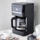 Cafetière Braun «BrewSense» noire
