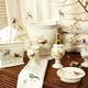 Accessoires de salle de bain collection  « Gilded Birds »