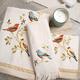 Collection de serviettes de bain «Gilded Birds»