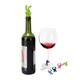 Ensemble de breloques à vin et bouchon « Drinking Buddy » par Umbra
