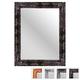 Collection de miroirs en métal martelé