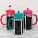Cafetière à piston 8-tasses « Jewel Tone » par Bodum