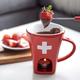 Ensemble pour fondue au chocolat par Swiss Cross