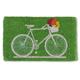 Paillasson avec bicyclette